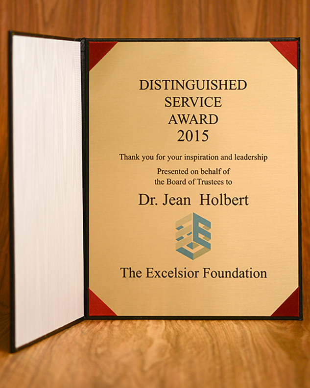Distinguished service award